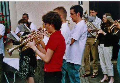 Hochzäit vum Michèle an Mike 2005