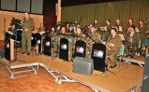 Concert vun der Big Band vun der Militärmusek 2008
