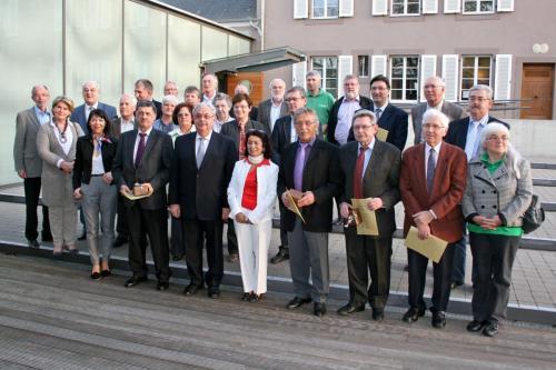 Iwwerreechung vum Mérite associatif 2011