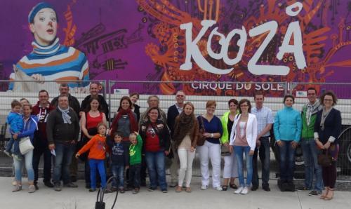 Ausflug Knokke a Brugge 2013 - Annick Schuller